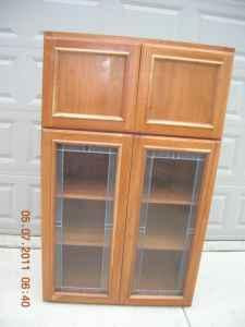 Solid Wood Kitchen Cabinet Pantry - (Sunbury) for Sale in ...
