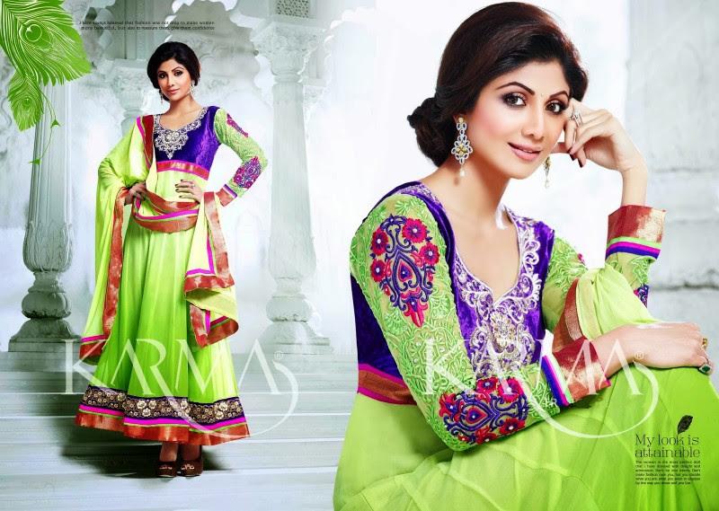 Shilpa-Shetty-Bollywood-Indian-Wear-Ankle-Length-Fancy-Anarkali-Frock-New-Fashion-Dress-1