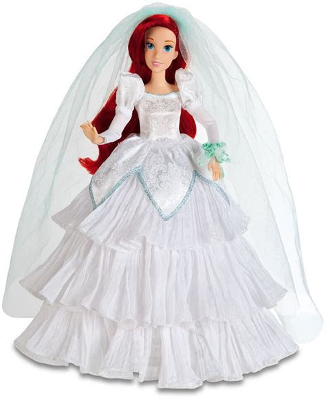 Once Upon a Wedding Ariel Doll   Ariel is all dressed up