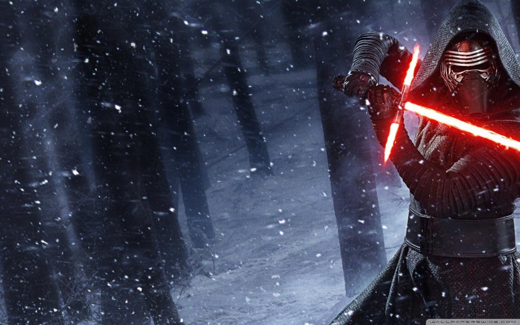 Kylo Ren Star Wars Lightsaber Ultra Hd Desktop Background