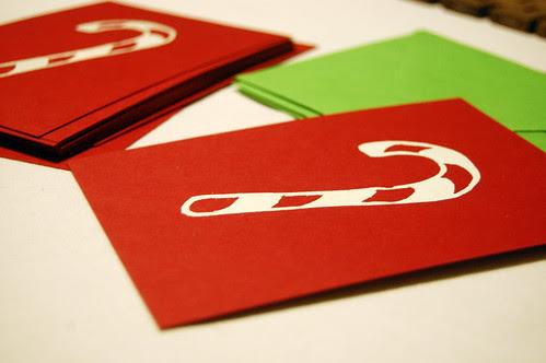 embossed holiday card tutorial