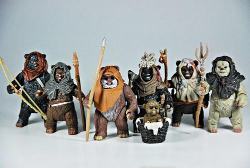 Family of Ewoks