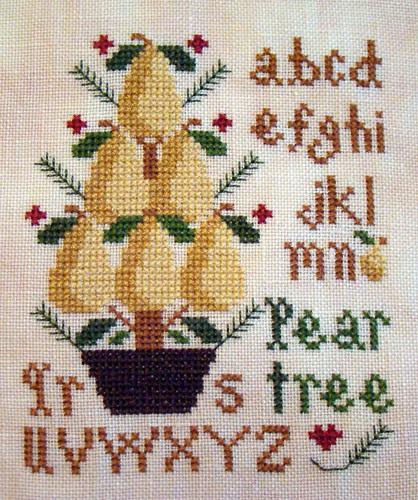 LHN Pear Tree Ornament
