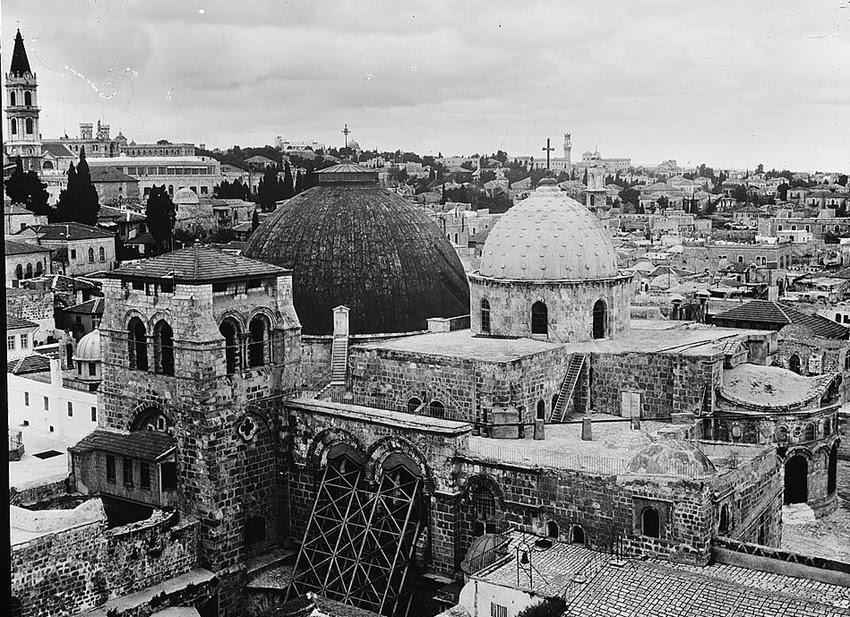church-of-the-holy-sepulchre-jerusalem-1950