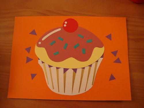 Exterior of Pete's handmade card