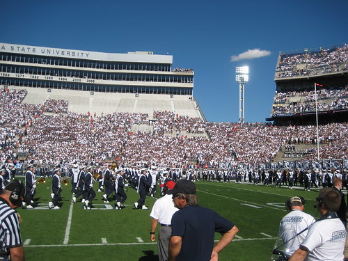 PSU vs Temple - 3 Minutes before Kickoff