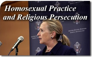 Homosexual Practice and Religious Persecution