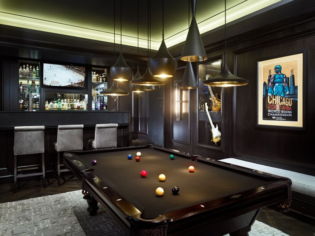 Game Room - contemporary - family room - chicago - by Michael ...