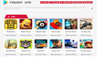 Power APK Blogger Theme