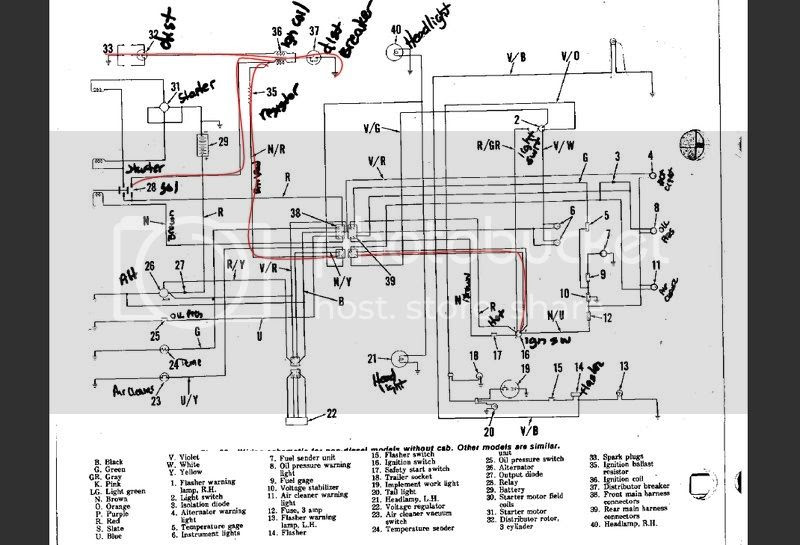 wiring diagrams for ford 2600 tractor image 5
