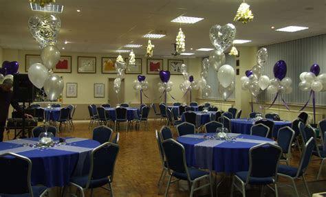 25th Wedding Anniversary Table Decor Ideas Photograph   25th