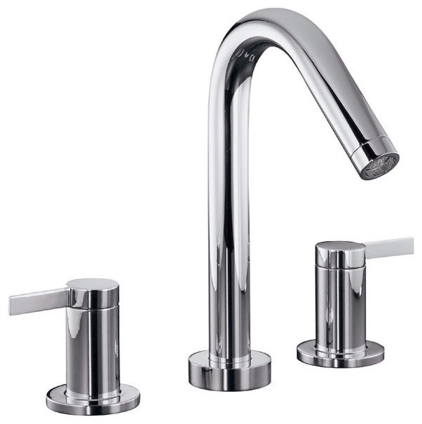 Kohler Stillness® Widespread Bathroom Faucet - modern - bathroom ...