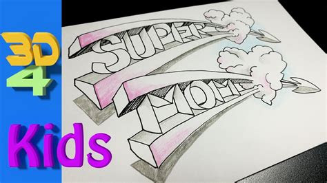 easy   mothers day drawing  draw super mom