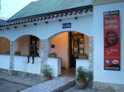La casa museo donde vivió de niño el Che Guevara, en Alta Gracia.