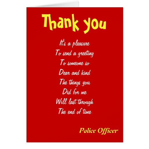 Thank A Police Officer Quotes Wwwtraveloutcouk
