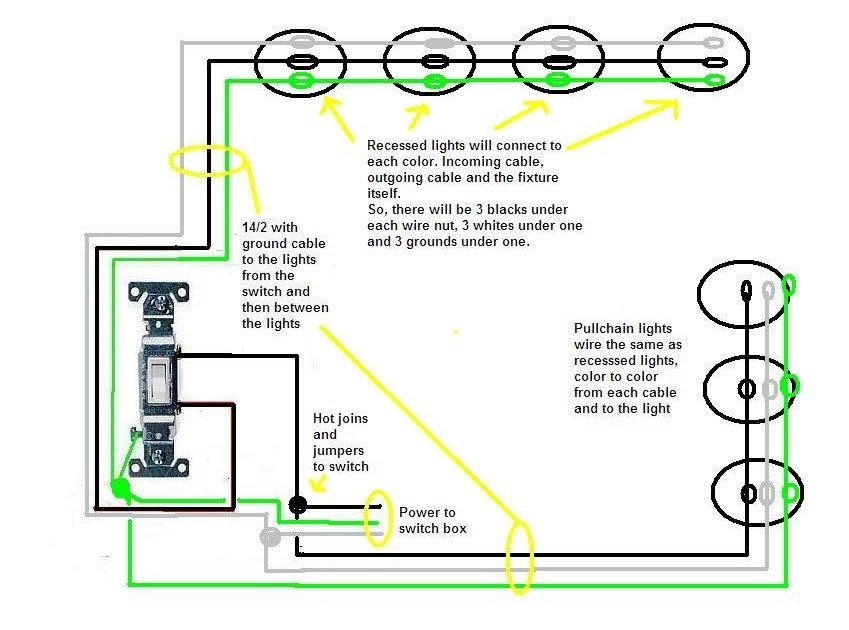 19 Lovely Pull Chain Switch Wiring Diagram