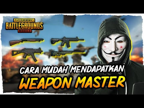 How to get title weapon master in pubg mobile