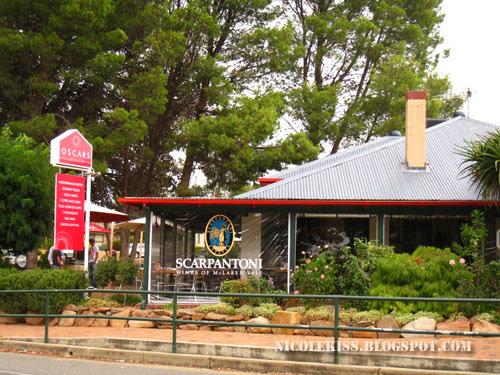 oscars restaurant in mcClaren vale