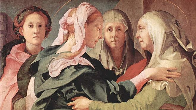 Visitation by Jacopo Pontormo.jpg