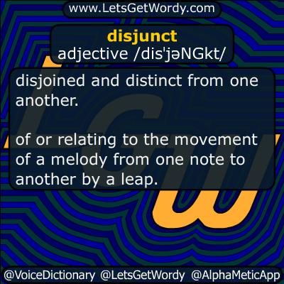 disjunct 05/06/2016 GFX Definition