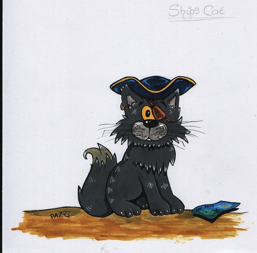 Mr Whiskers - Ship's Cat