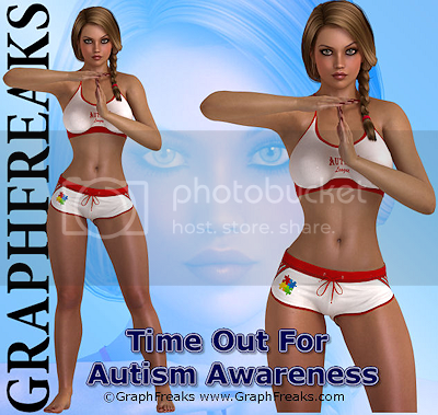 Graphfreaks Ct Time Out For Autism Awareness