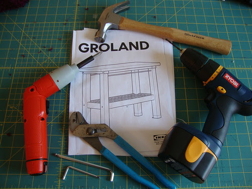 what you need to put together the Ikea Groland