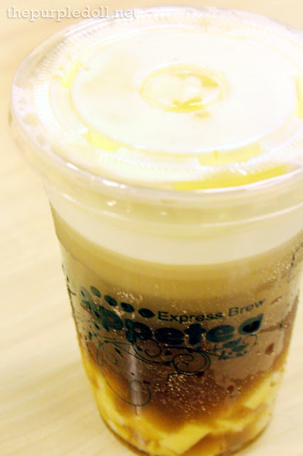 Wintermelon Tea with Cheese Foam P100 Medium P110 Large