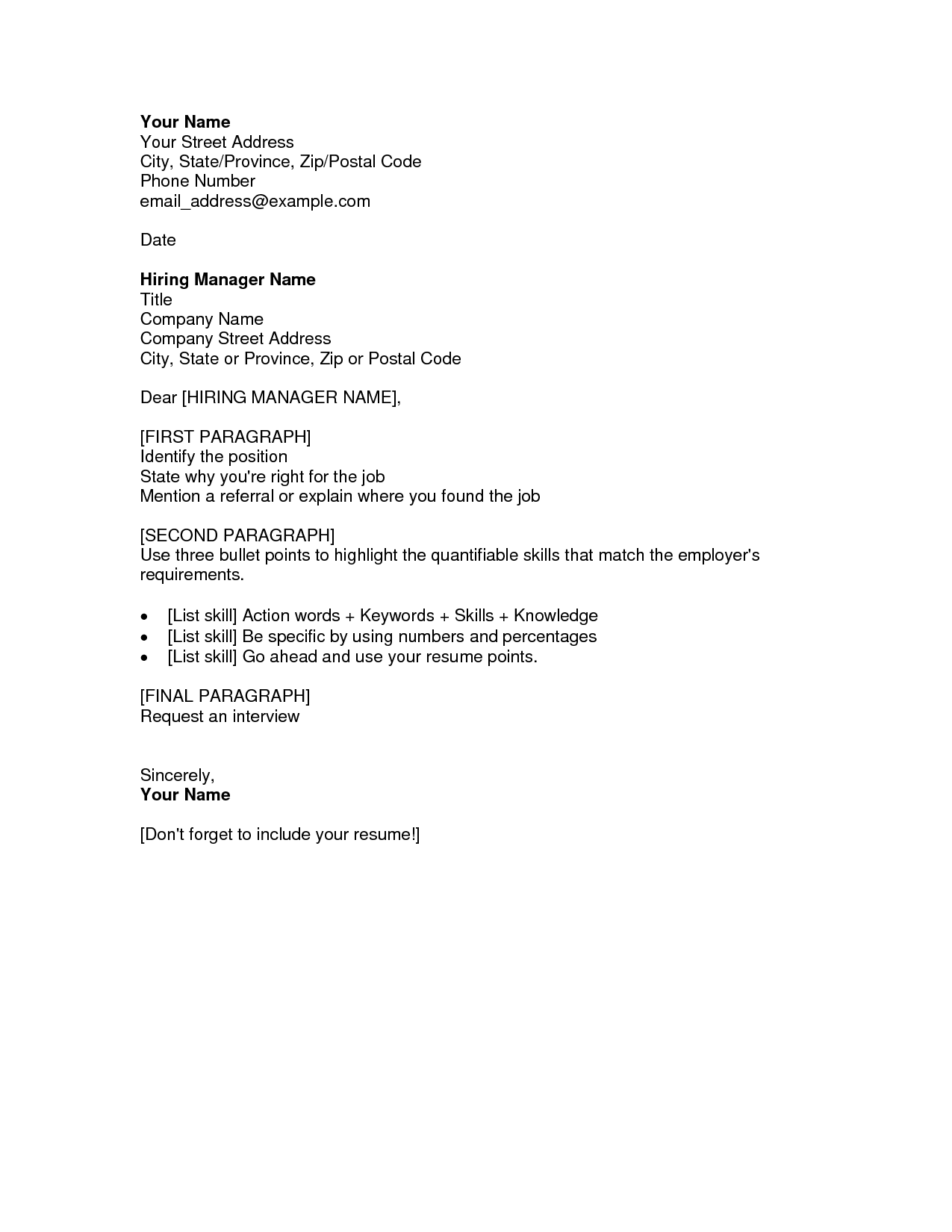 Resume Cover Letter  Fotolip.com Rich image and wallpaper