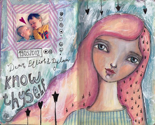 Dylan & Elliot Art Journal - p11