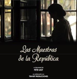 """cartel maestras republica """"Las maestras de la República"""""""