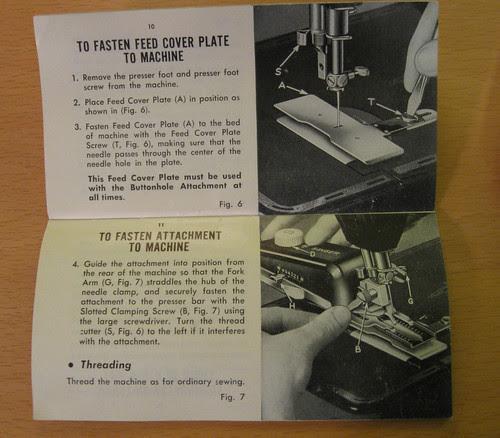 Button attachment instruction manual