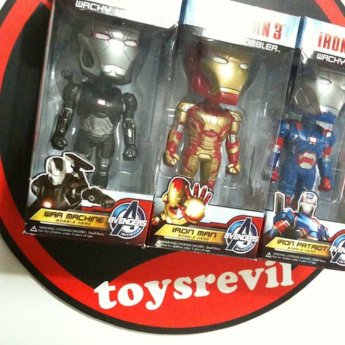 Iron Man 3 Wacky Wobblers