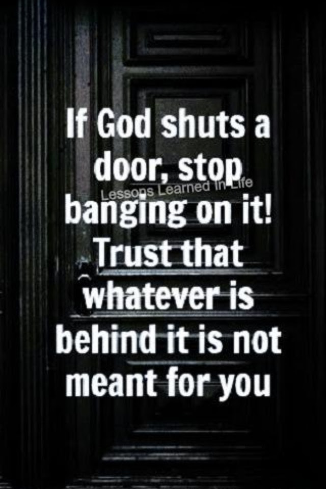 Quotes About Shutting Doors 42 Quotes