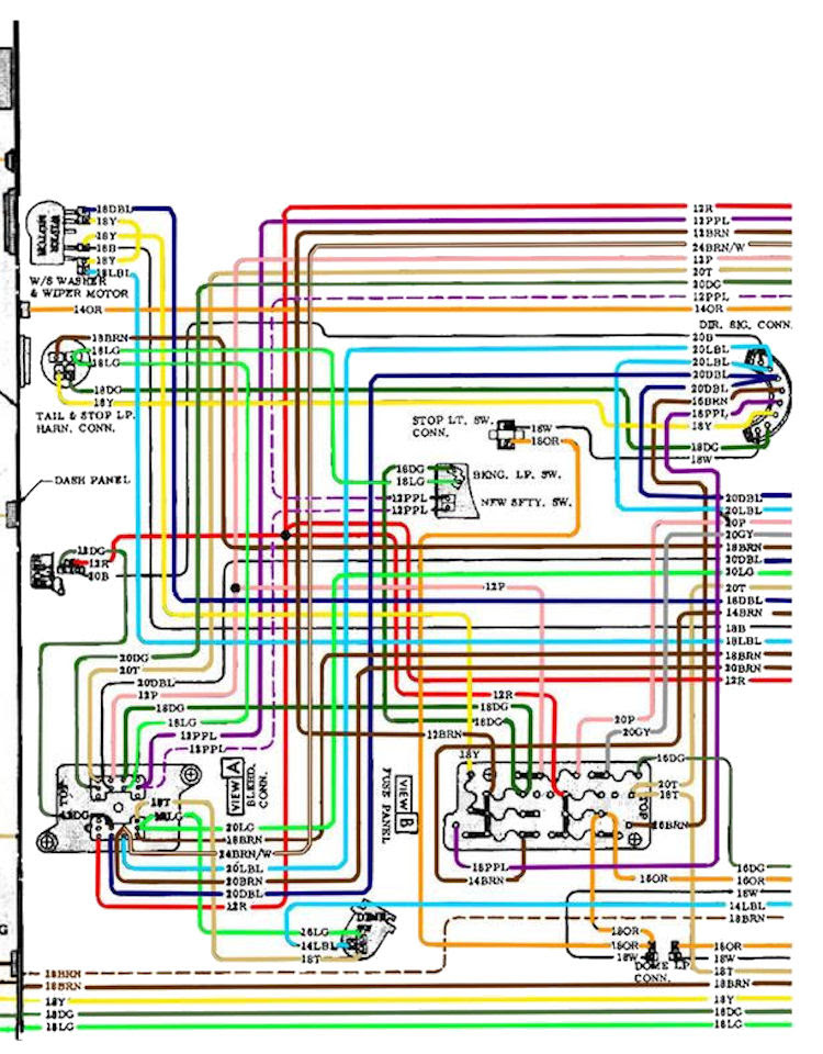 1970 Chevelle Wiring Diagrams
