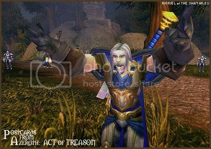 Postcards of Azeroth: Act of Treason, by Rioriel of theshatar.eu
