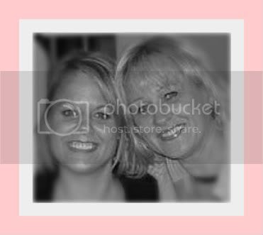 mom and I with pink border