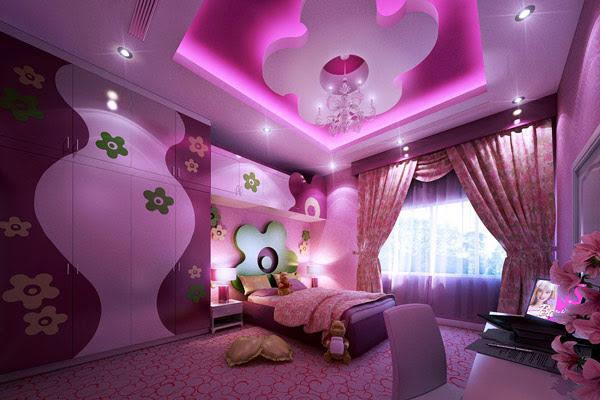 Creative girls bedroom decorating ideas
