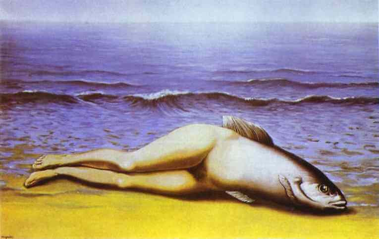 The collective invention, 1934 by Rene Magritte