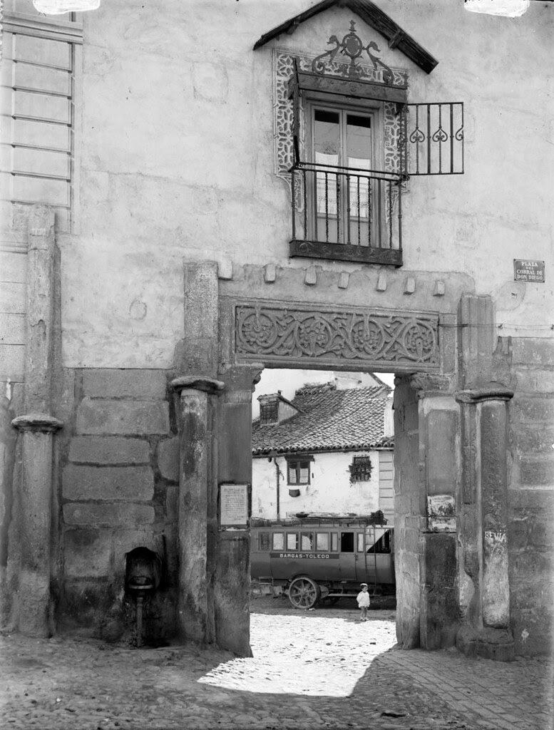 Corral de Don Diego en los años 20. Fotografía de Otto Wünderlich. © Fototeca del Patrimonio Histórico