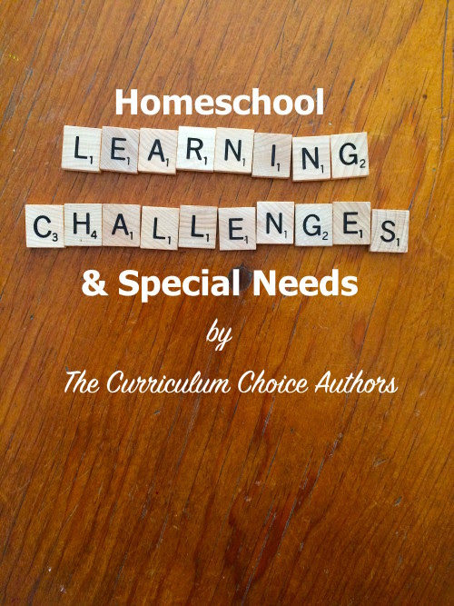 Homeschool Learning Challenges and Special Needs by The Curriculum Choice Authors
