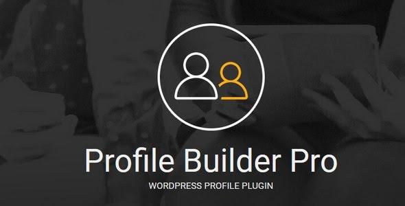Profile Builder Pro v2.9.1 - WordPress Profile Plugin