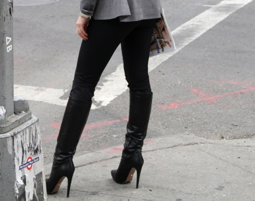 realfashionreview:  NYC Boot Style Photo by George Chinsee