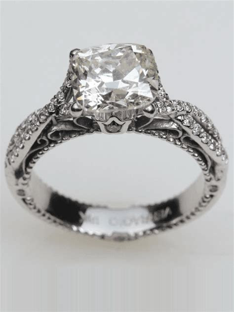 Lowest Price Vintage Style Engagement Ring in Houston, TX