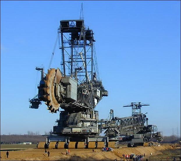 mesin  penggali