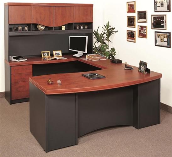 Creative Design of U Shaped Desk for Home Office HomesFeed