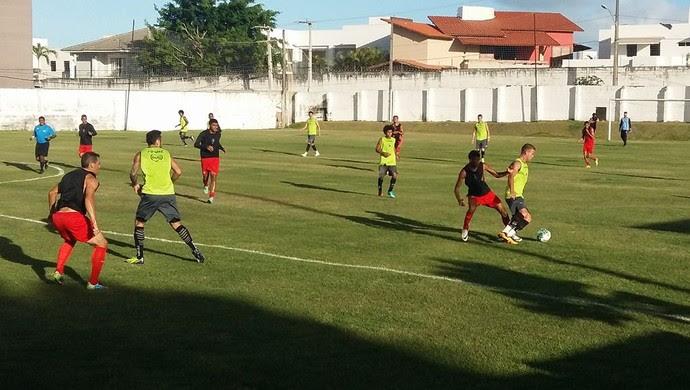 ABC x Atlético Potengi jogo-treino (Foto: Jocaff Souza/GloboEsporte.com)