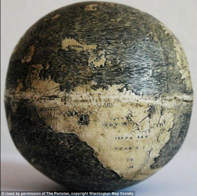 Just seven names mark the Western Hemisphere
