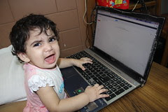 no its my turn to sit on the laptop by firoze shakir photographerno1