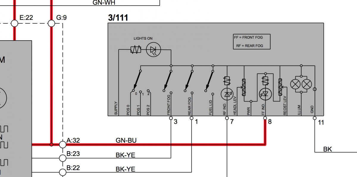 Volvo Light Wiring Diagram